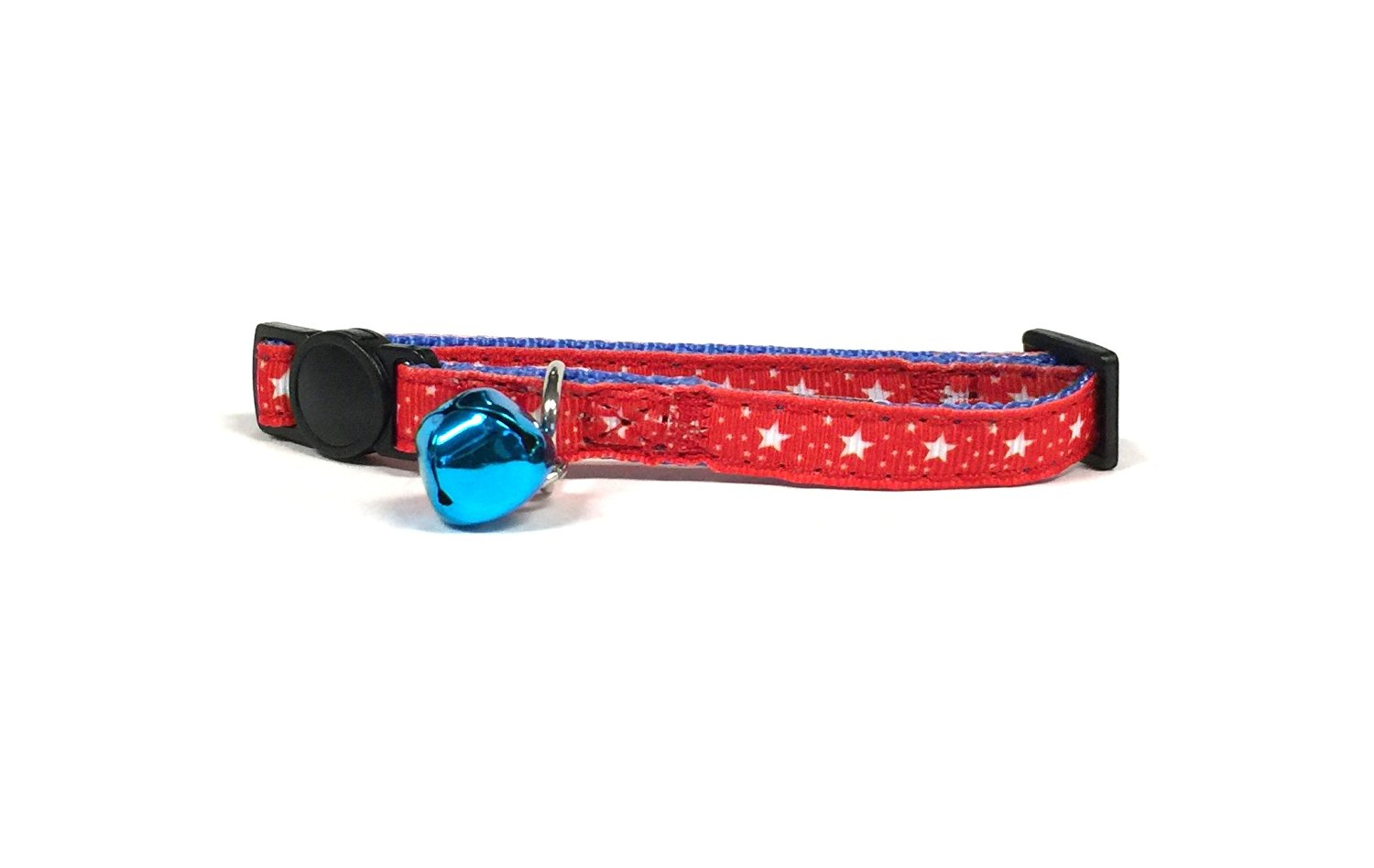 4th of July Stars Cat Collar Set by Midlee by