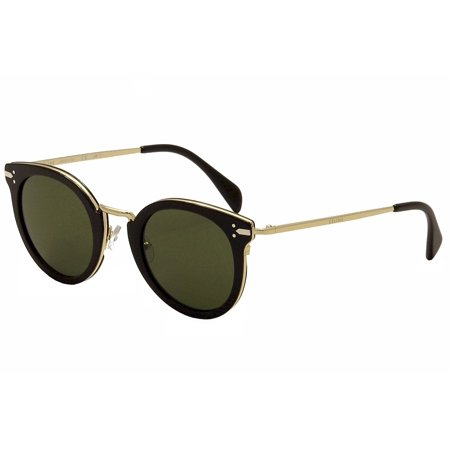Celine Women's CL 41373S CL/41373/S ANW/1E Black/Gold Fashion Sunglasses (Celine Large Audrey Sc 1755 Black Sunglasses)