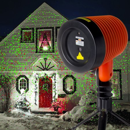 Stargazer Laser Light Show Projector Remote Indoor Or Outdoor ...