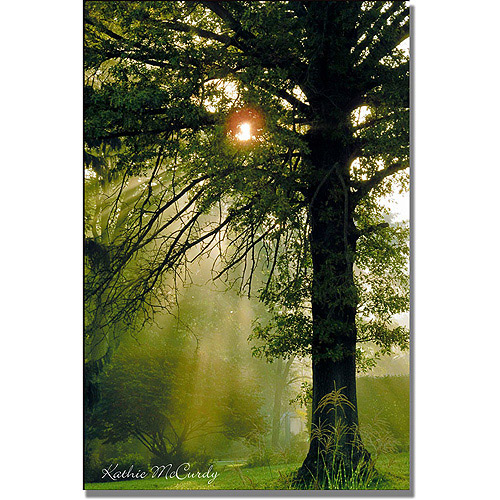 "Trademark Art ""Magical Tree"" Canvas Wall Art by Kathie McCurdy"