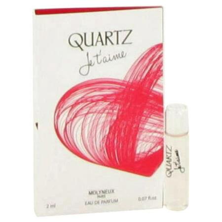 Quartz Je T'aime by Molyneux Vial (sample) .07 oz for Women