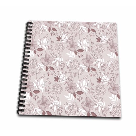 Pretty N Pink Everydays Halloween (3dRose So Pretty soft pink flowers with white leaves- nature - Mini Notepad, 4 by)
