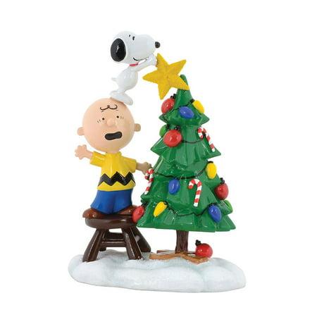 Department 56 4058131 Peanuts Tree Topper Figurine 2017 (Dept 56 Peanuts Halloween)
