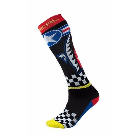 Oneal Pro MX Print Socks - Wingman - 0356-734 - Offroad Motocross Socks Axo Mx Socks