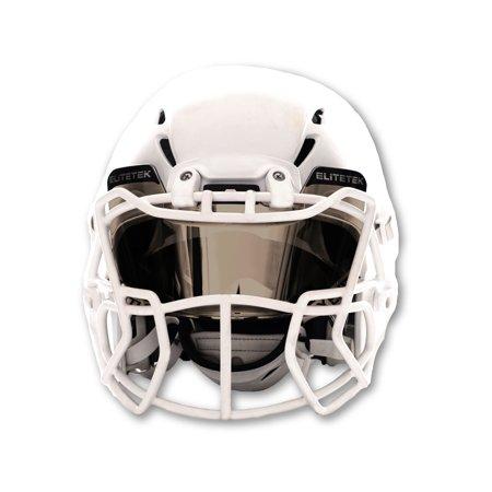 Visor Football Cheap (Elitetek Football Eye-shield Visor (Mirrored)