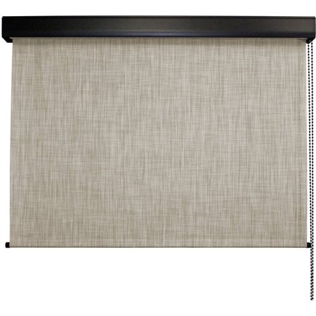 Keystone Fabrics Valanced Cord Operated Outdoor Solar Shade 10 39 Wide X 8 39 Drop Larkspur