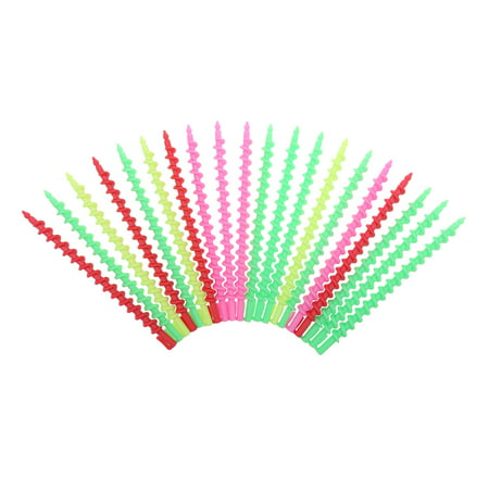 20Pcs Hair Rollers Spiral Rod Hairdressing Spiral Hair Perm Rod Salon Tool Trx250r Hot Rods
