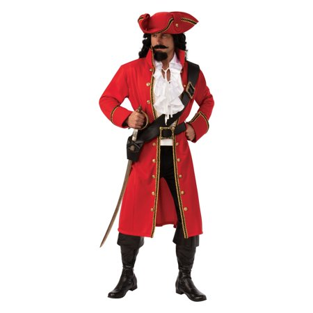 First Class Captain Halloween Costume (Halloween Pirate Captain Adult)