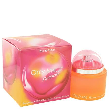 Yves De Sistelle Only Me Passion Eau De Parfum Spray for Women 3.3 oz