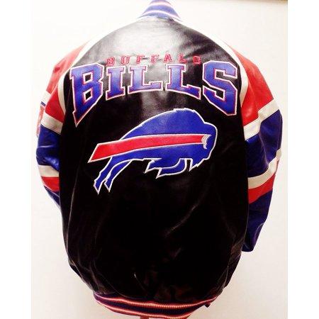 Buffalo Bills P-leather Full-zip Jacket
