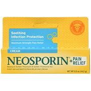 Neosporin Maximum Strength Antibiotic + Pain Relief Cream 0.5oz Each