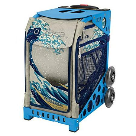 - Zuca Great Wave Sport Insert Bag & Blue Frame with Flashing Wheels