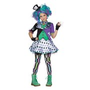 Halloween Girl's Mad Hatter Child Costume Size Medium by Fun World
