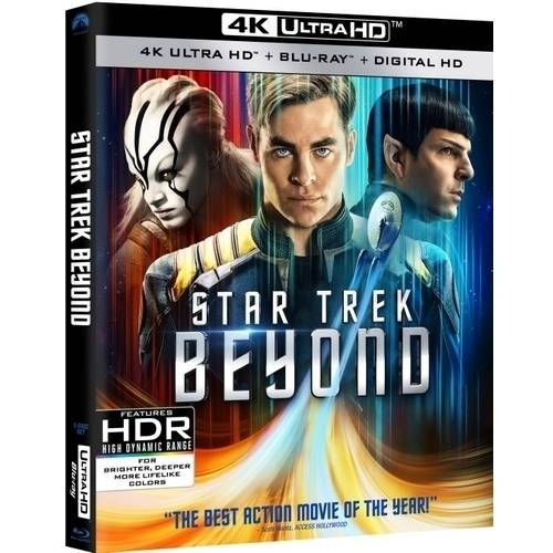 Star Trek Beyond (4K Ultra HD   Blu-ray   Digital HD) (Walmart Exclusive)