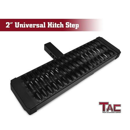 Universal Step - TAC Aluminum Hitch Step Universal Fit 2