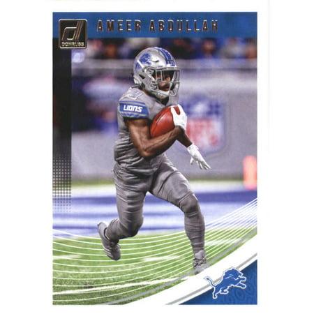 2018 Donruss #98 Ameer Abdullah Detroit Lions Football Card](Ameer Abdullah Halloween)