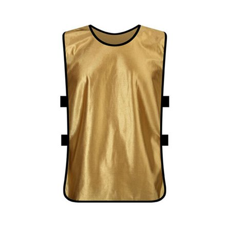 TopTie Training Vests, Football Jersey, Pinnies for Soccer Team, Multiple Colors and Quantities-Khaki-Adult
