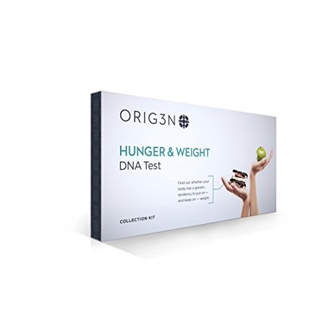 ORIG3N Genetic Home Mini DNA Test Kit, Hunger & Weight Certified Lab Report