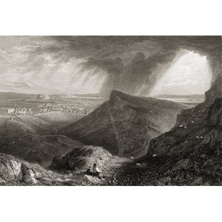 Edinburgh From The Ascent To Arthurs Seat From The Original Painting By Lt Col Batty FRS From The Book Select Views Of Some Of The Principal Cities Of Europe Published London 1832 Engraved By WBSmith](City Of Seatac)