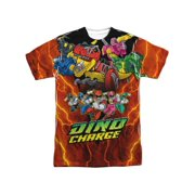 Power Rangers - Zord Power (Front/Back Print) - Short Sleeve Shirt - XXX-Large