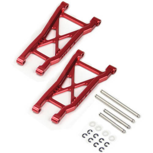 Alloy Rear Lower Arm for Traxxas Slash 2WD, 1:10, Red