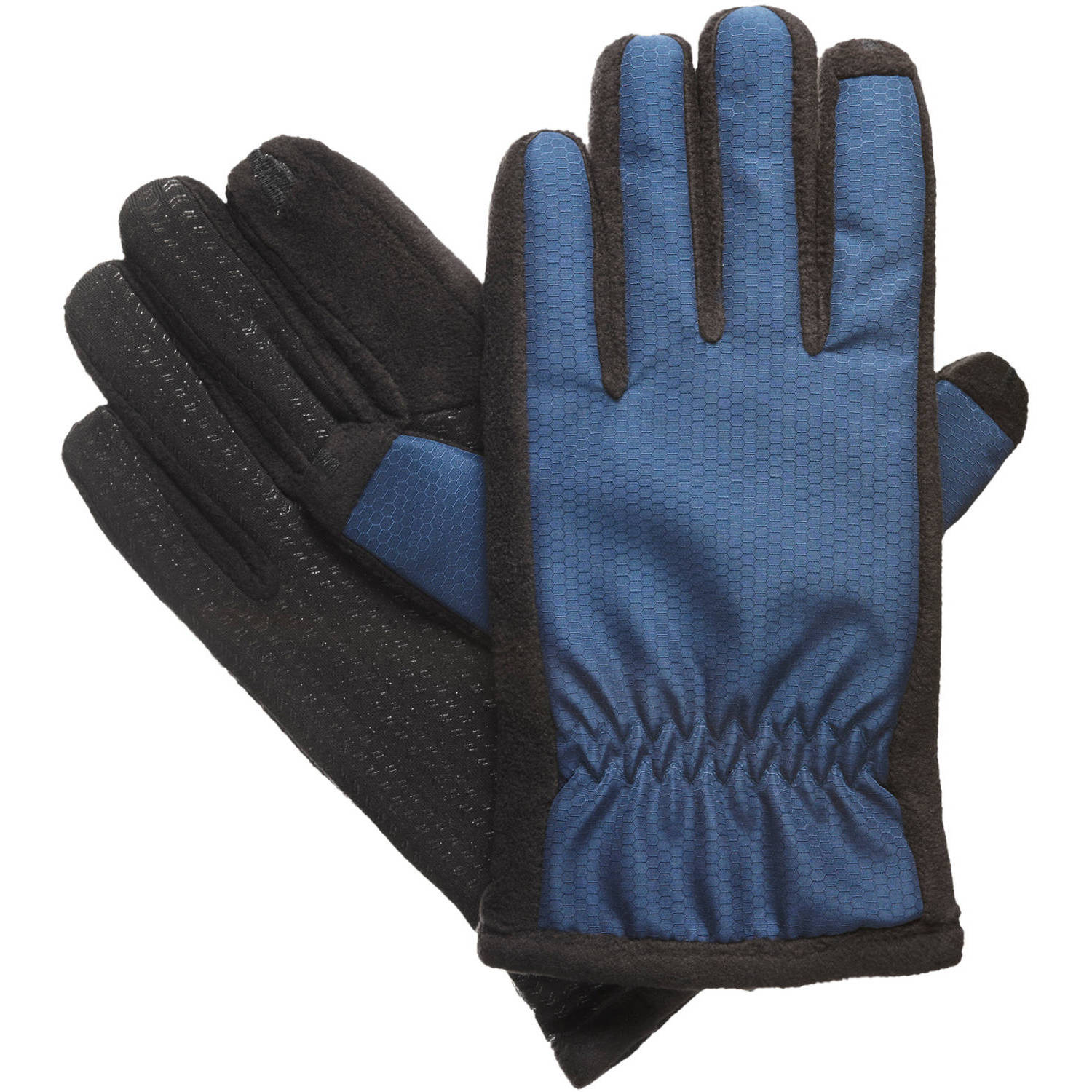 Essentials by Isotoner Women's smarTouch Matrix Nylon Fleece Glove