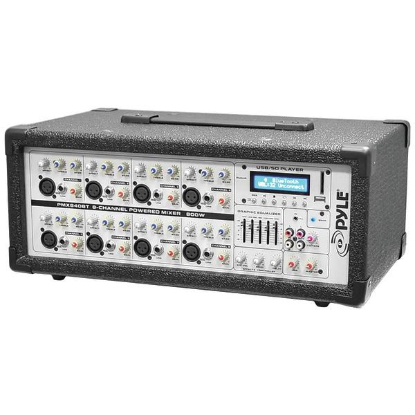 Pyle Pro(R) PMX840BT 8-Channel 800-Watt Bluetooth(R) Mixer - image 1 de 1
