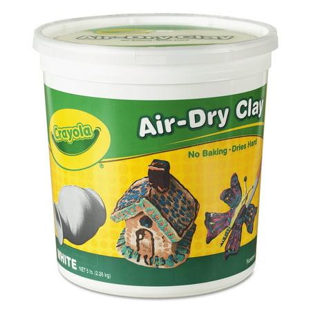 Crayola Air Dry Clay  White  5 Lbs