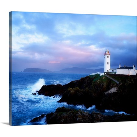 Great American Lighthouses (Great BIG Canvas | The Irish Image Collection Premium Thick-Wrap Canvas entitled Lighthouse At Fanad Head, County Donegal, Ireland )