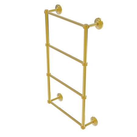 Allied Brass Que Ladder Towel Bar Dotted Detail