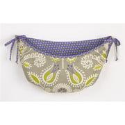 Cotton Tale PWTB Periwinkle Toy bag, Floral, polka dot
