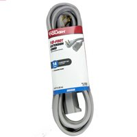 Hyper Tough 10ft 14/3 Gray Air Conditioner Cord