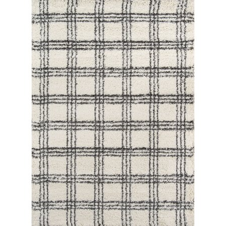 Momeni Maya Plaid Area Rug