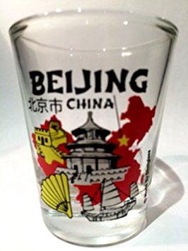 Beijing China Shot Glass by World By Shotglass
