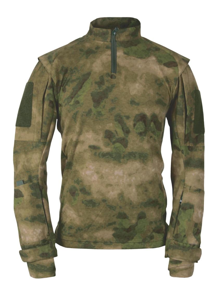 Propper A-TACS Fg Camo Sleeves: Battle Rip Polyester Tac.U Combat Shirt (S-L)