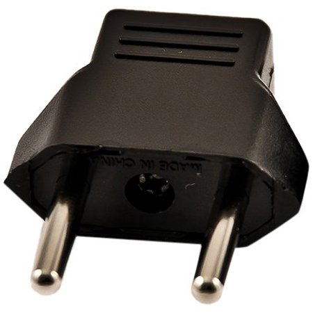 VCT Electronics VP4 USA To Europe and Asia Travel Plug Adapter (Asian Electronics)
