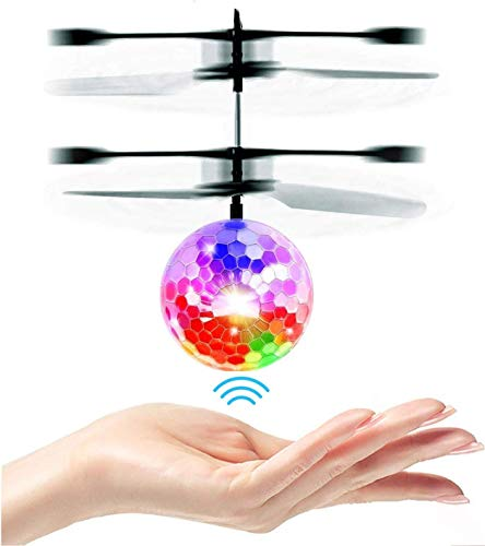 MOMU Christmas Drones/ Flying Kids Drones Santa Claus Flying Toys,Hand Operated Electric Infrared
