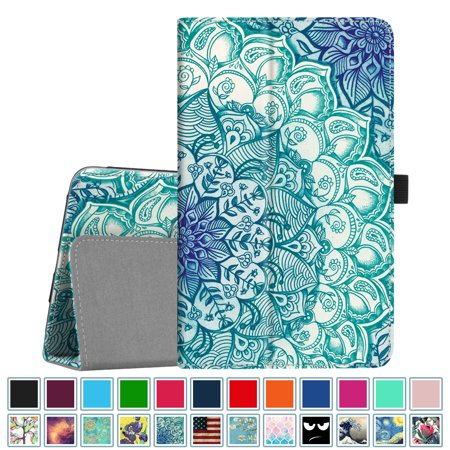 Fintie Case for Samsung Galaxy Tab A 8.0 2018 Model SM-T387 Verizon/Sprint Folio Leather Stand Cover Emerald