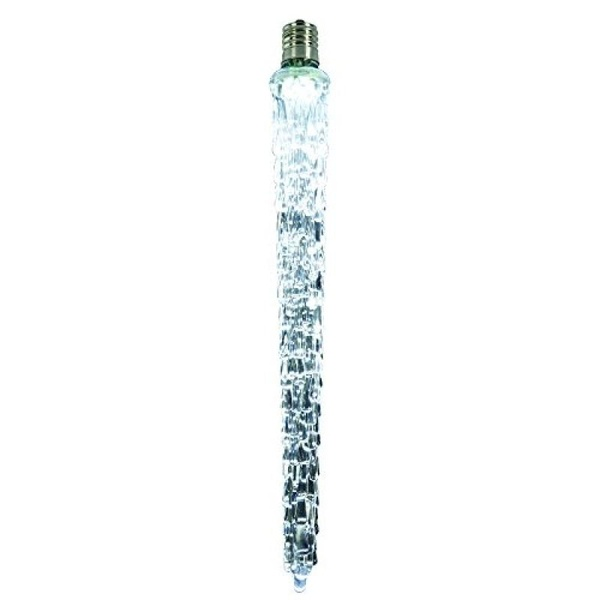 "Vickerman 9"" LED Cool White Falling Icicle Replacement Bulb -XICE965 - image 1 de 1"