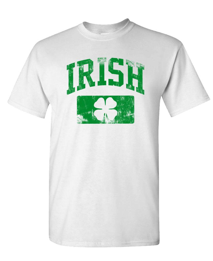 Gooder Deals  v2 DISTRESSED IRISH - st paddys patricks - Mens Cotton T-Shirt