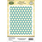 JustRite Papercraft Cling Background Stamp 4.5 Inch X 5.75 Inch-Ho