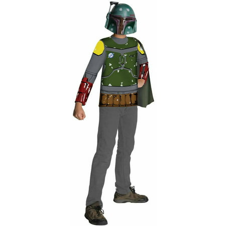 Boba Fett Deluxe Child Costume (Star Wars Boba Fett Child Halloween)