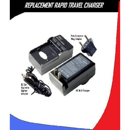 RAPID Travel AC DC Charger For Kodak EasyShare M341 12.2 MP Digital Camera