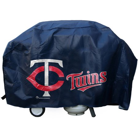 MLB Rico Industries Deluxe Grill Cover, Minnesota Twins by