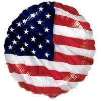 Mayflower 220143 Patriotic Flying Colors Foil Balloon