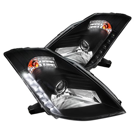 Spec D Tuning 2003 2005 Nissan 350z Smd Led Hid Projector Headlights Head Lamps 2004 Left Right
