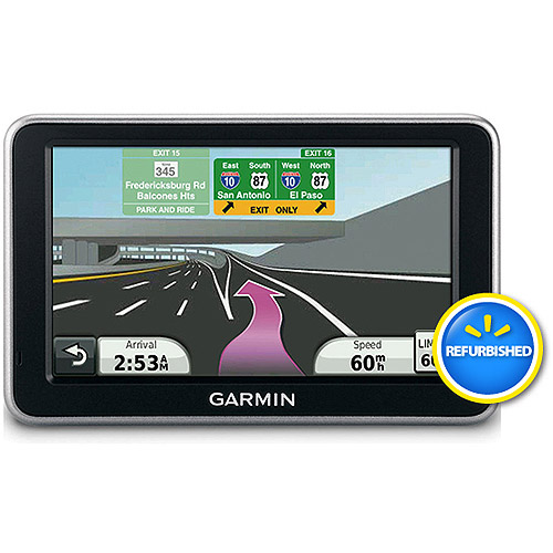 Refurbished Nuvi 2460LMT 5 In. GPS with Speech Recognition and Free Lifetime Map & Traffic Updates