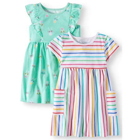 Knit Dresses, 2-pack (Toddler Girls) - Dress For Girl