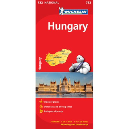 Hungary NATIONAL Map (Michelin National Maps) (Map)