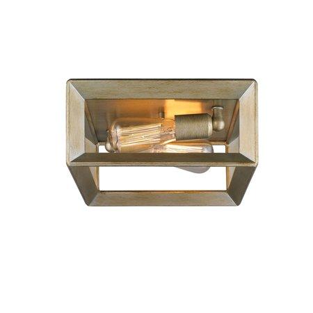 Golden Lighting 2073-FM Smyth 2 Light 11.5